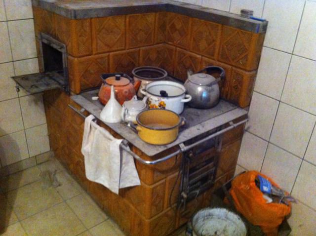 Kaflowa Kuchnia Węglowa Kuchnia